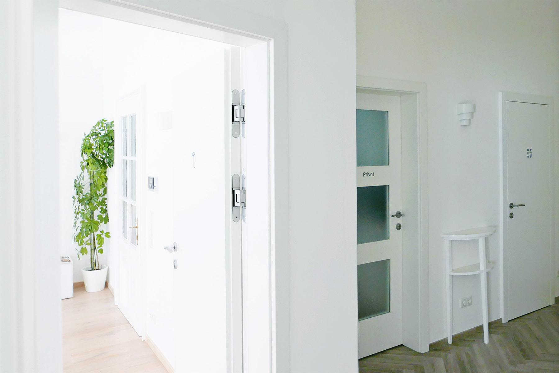 Psychotherapie, Eingangsbereich und Zugang